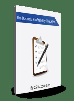 Business Profitability Checklist Ebook Cover