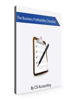 Business Profitability Checklist Ebook Cover