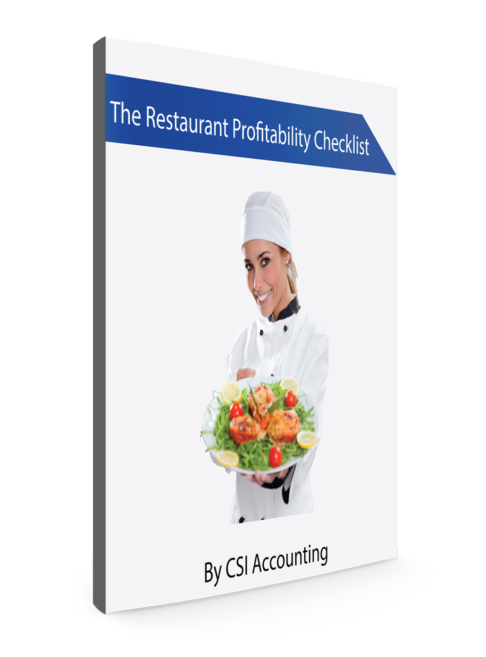Restaurant Profitability Checklist eBook Cover