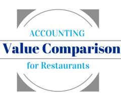 Accounting Comparison for Restaurants Logo