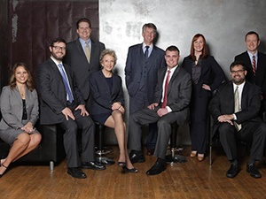 Team of attorneys at Halberg, Appleton, Nelson & Hazelton