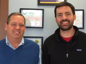 Dave and Mike Burns owners of Parents Automotive